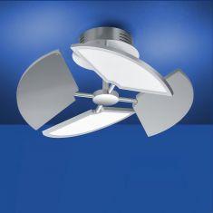 LED Deckenleuchte Diego mit CCT- Dimmtechnik von B-Leuchten