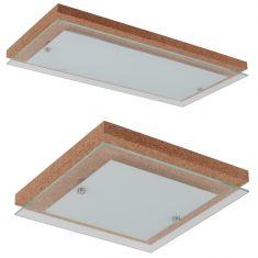 LED Deckenleuchte Finn Kork verschiedene Größen erhältlich