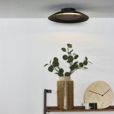 LED Deckenleuchte Foskal rund in messing, schwarz, weiß oder silber verfügbar