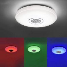 LED Deckenleuchte mit Lautsprecher und Farbwechsel