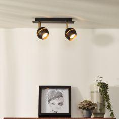 LED Deckenstrahler Binari in weiß oder schwarz