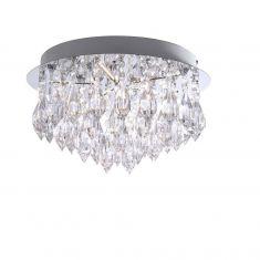 LED Design-Deckenleuchte, Rund, Acrylglas