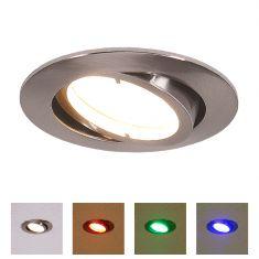 LED Einbauleuchte Lola Down, RGB, CCT, rund 8,5cm rund, 8,50 cm, 6,80 cm