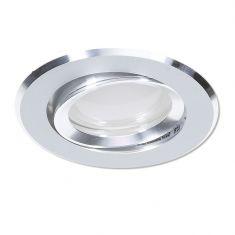 LED Einbaustrahler Aluminium rund 4-fach switchmodimmbar
