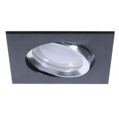 LED Einbaustrahler Aus Aluminium Schwarz 3-fach dimmbar