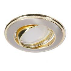 LED Einbaustrahler Nickel und Gold 4-fach dimmbar switchmo