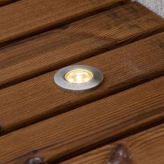 LED Einbaustrahler Set ,6 Bodenstäbe, inklusive Leuchtmittel und Trafo