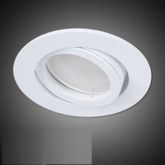 LED Einbaustrahler in Weiß rund 4-fach dimmbar switchmo