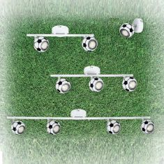 LED Kinderleuchte Play, verschiedene Ausführungen Fußballdesign