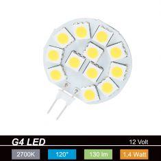 LED Leuchtmittel G4 1,5Watt  warmweiß