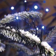 LED Lichterkette für Außen, 80 Dioden in warm weiß oder blau, Länge 2224cm