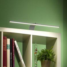 LED Möbelleuchte Lumi in grau zum Anschrauben