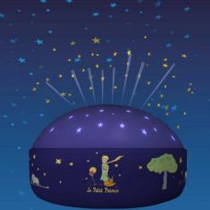 LED Nachtlicht Batteriebetrieben mit Sternenhimmel Projektion Der kleine Prinz - inklusive LED Taschenlampe