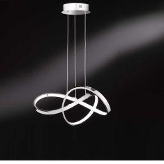 LED Pendelleuchte Catalani  in chrom