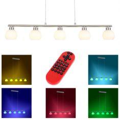 LED Pendelleuchte Lola Lotta mit RGB, CCT und Fernbedienung