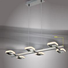 LED Pendelleuchte Nero mit Touch Direktdimmer
