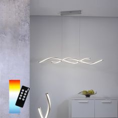 LED Pendelleuchte Q®-Malina, Smart Home ZigBee kompatibel