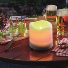 LED Solarleuchte Candle Light