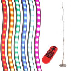 LED Standleuchte Lola Wave mit RGB,CCT und Fernbedienung