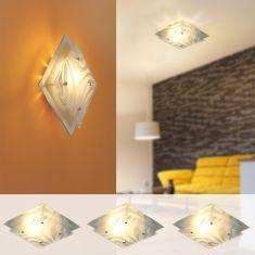 LED Starterset für Singlewohnungen 3 x Lampe Wave und 3xLED