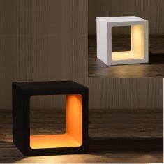 LED Tischlampe Xio von Lucide in weiß oder schwarz