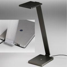 LED Tischleuchte Navigator USB - Aluminium oder Anthrazit