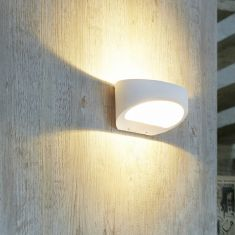 LED Wandleuchte Brace von my light, IP54 - dimmbar