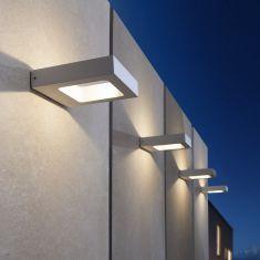 Silberne LED Wandleuchte Carre von my light silber