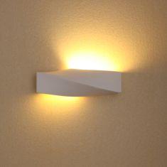 LED Wandleuchte Sigma weiß + 6W LED