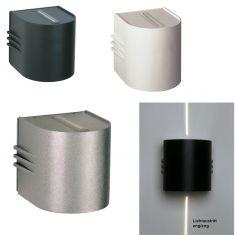 LED Wandstrahler in 3 Farben, Lichtaustritt eng / eng