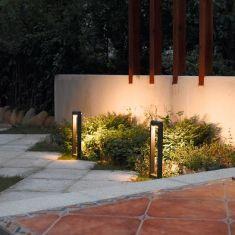 LED Wegeleuchte Estilo aus wetterfestem Aluminium-Druckguss