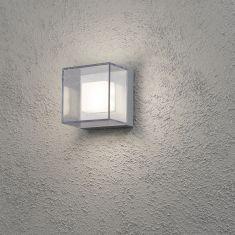LED-Außenwandleuchte Aluminium -  6 x 1 Watt LED