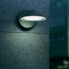 LED-Außenwandleuchte aus solidem Auminiumguss, 4x3W LEDs