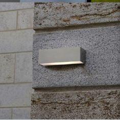 LED-Außenwandleuchte in Edelstahl 5Watt