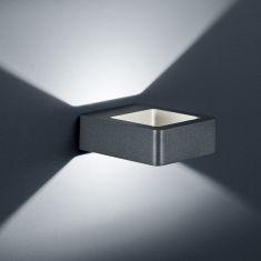 LED-Außen-Wandleuchte Reno in anthrazit 1x 4,5 Watt, anthrazit