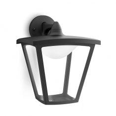 LED-Außenwandleuchte Schwarz - Inklusive LED 1 x 4,5 W