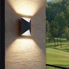 LED-Außenwandleuchte Up&Down, in 2 Farben, LED 2x2,5 Watt