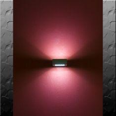 LED-Aussenwandleuchte mit 60 LEDs  max. 3,5 Watt inkl.