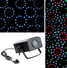 LED-Beamer für Party-Events mit Farbwechsel und Soundsensor