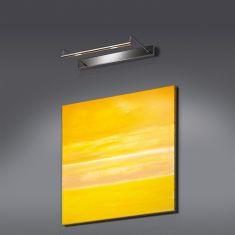 LED-Bilderleuchte Screen aus Messing, 2-flg., 4 Oberflächen