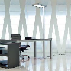 LED-Bürostehleuchte mit LED 55W Neutral Weiß, in 2 Farben