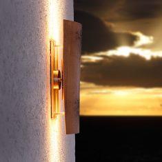 LED-Dachziegel-Außenleuchte Assisi Up&Down Höhe 44cm