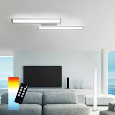 LED-Deckenleuchte 2x19W Q®-Rosa, Smart Home ZigBee kompatibel