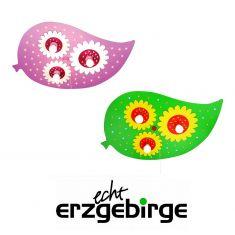 LED-Deckenleuchte in Blattform und Blüten - 2 Farben