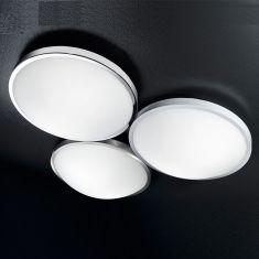 LED-Deckenleuchte 40 cm, LED neutralweiß, 3 Ausführungen