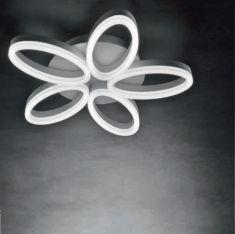 LED-Deckenleuchte Fleur 5
