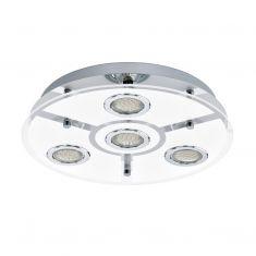 LED-Deckenleuchte mit 35 cm Durchmesser - inklusive 4 Leuchtmitteln 4x 3 Watt, 7,50 cm, 35,00 cm