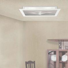 LED-Deckenleuchte mit hohem Lichtoutput - 83 Watt, Gold oder Silber