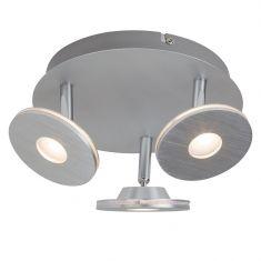 LED-Deckenleuchte mit 3 beweglichen Spots Ø 26cm