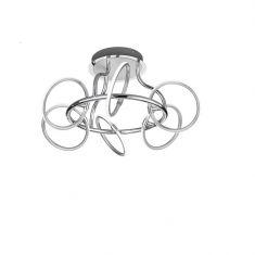 LED-Deckenleuchte Olympus, 6-flammig mit Switch Dimmer